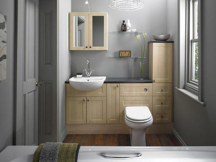 Atlantic Light Maple Bathroom Design. 1000  ideas about Narrow Bathroom Vanities on Pinterest   Small