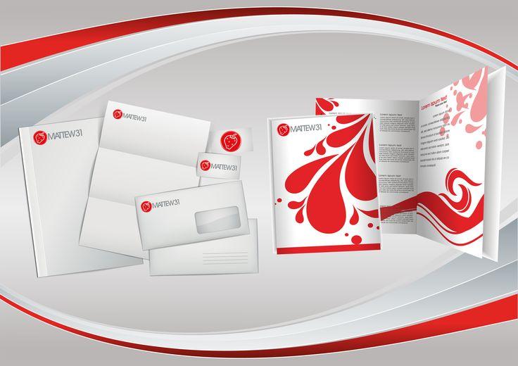 Immagine coordinata, logo aziendale, logo creativo, pieghevoli, volantini, flyer, ecc.