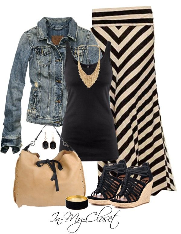 Casual Outfit. Cute. Maybe a shorter shirt for the summer and without the jacket