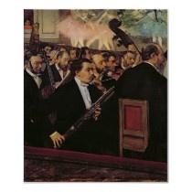 The Opera Orchestra, c.1870 Poster by bridgemanart