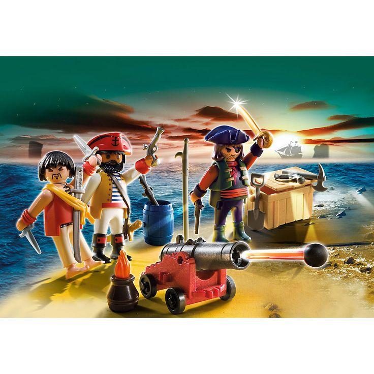 Playmobil Piraci Dowództwo piratów z arsenałem broni, 5136, klocki