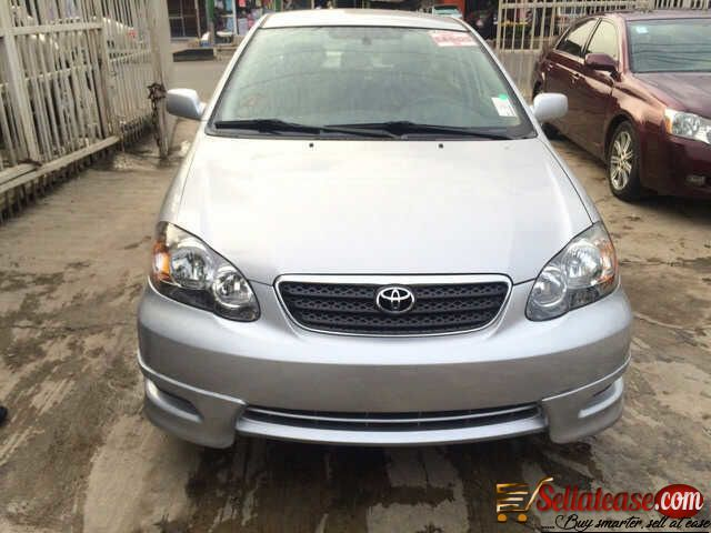 Tokunbo Toyota Corolla 2007 For Sale In Nigeria Sell At Ease Online Marketplace Sell To Real People Corolla 2007 Toyota Corolla Corolla