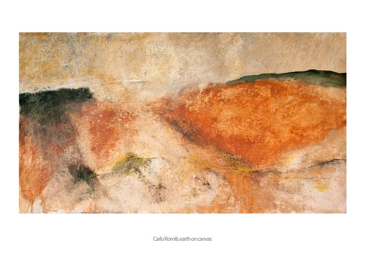 Carlo Romiti   TERRA VIVENTE  PIGNANO ART GALLERY 26.07 – 31.10.2017  VITALITA CULTURAL ASSOCIATION