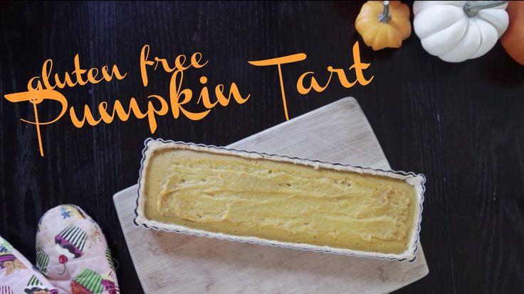 Gluten Free Pumpkin Tart | easy recipe