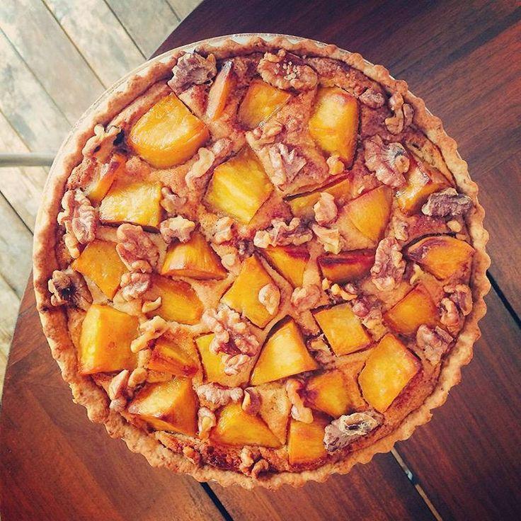 Everyone's favorite! Vegan sweetpotato tart 安納芋のタルトあります。