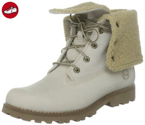 Timberland Authentics FTK_6 In WP Shearling Boot 21926  Mädchen Stiefel ,Weiß (Off White Nubuck)  EU 36 (US 4) (*Partner-Link)