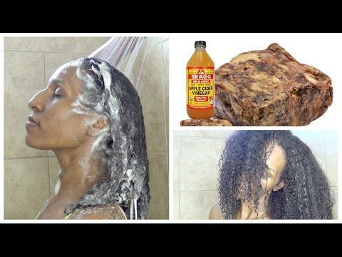 How To: Clarify Natural Hair | African Black Soap | Scalp Detox - YouTube