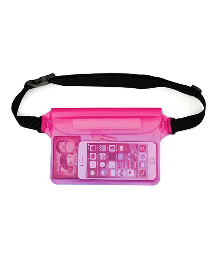 Take a look at this Pink Waterproof Fanny Pack today!