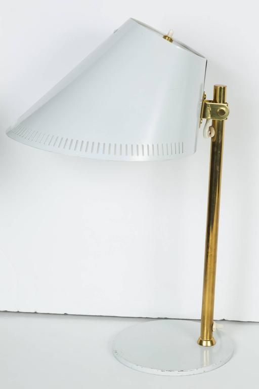 1950s Paavo Tynell 9227 Table Lamps for Idman 7