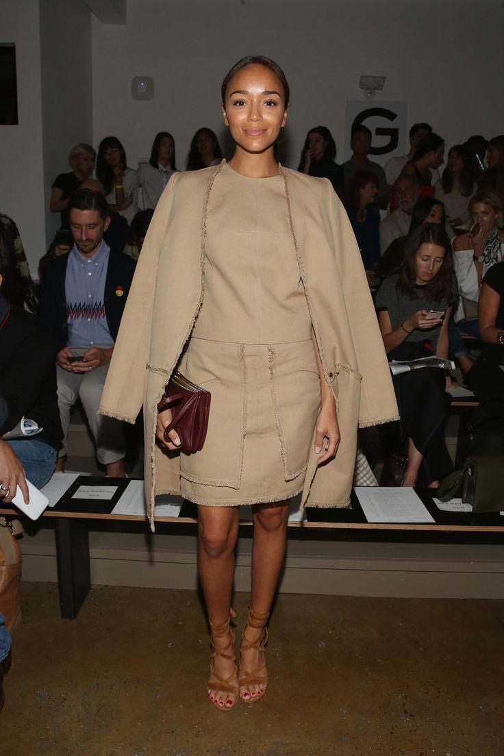 Ashley Madekwe à la Fashion Week de New York