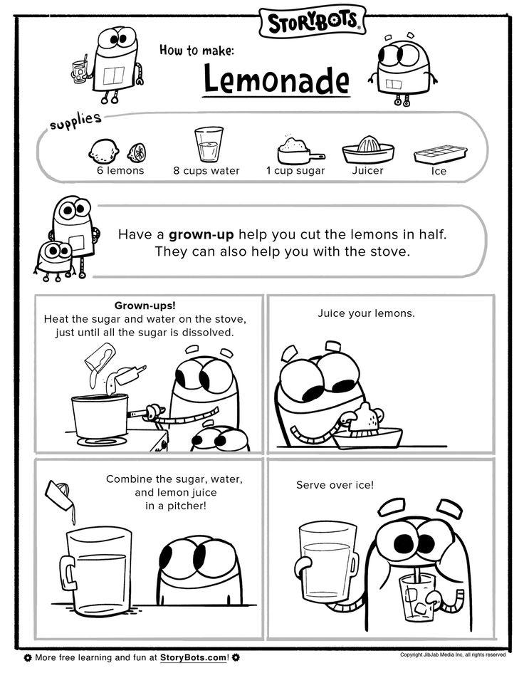 how to make homemade lemonade for kids