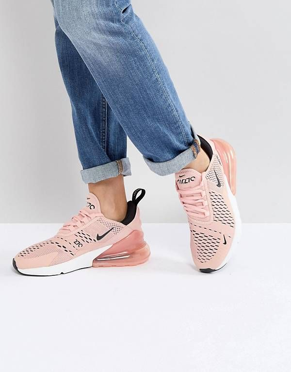 Nike Air Max 270 Trainers In Pink  a3f804649e55