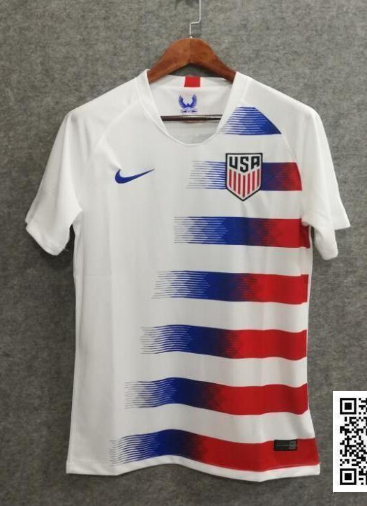 eb22ee84083 2018 Men USA Soccer Jersey Stadium Home World Cup Jersey Fanatics ...