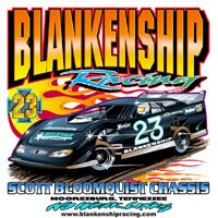 Blankenship Racing Tshirt - www.StellarApparel.com Dirt Late Model ...