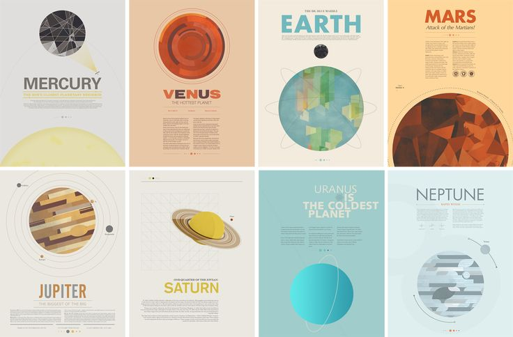Some cool facts about our solar system's planets :)