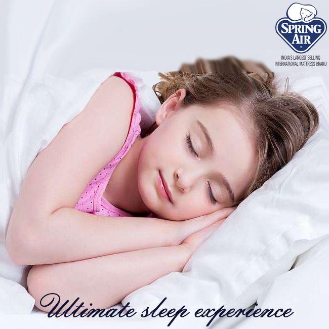 Enjoy the ultimate sleep experience on Spring Air mattresses. #SpringAirHappiness #experience #sleep