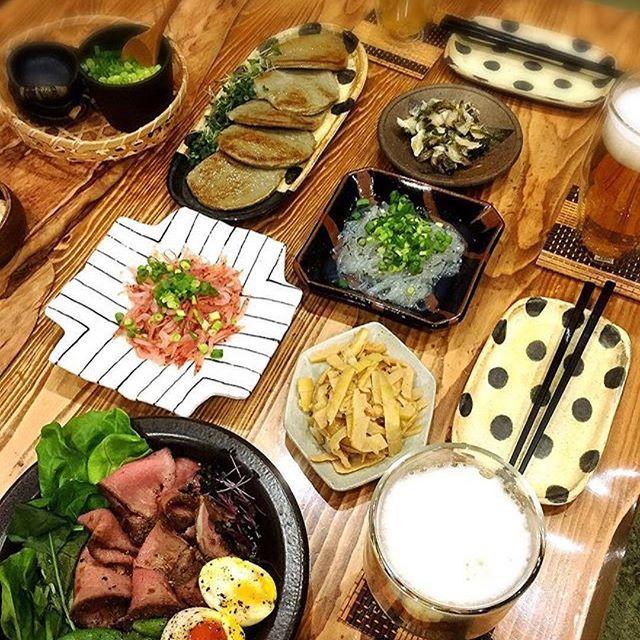 #Repost @sweets_of_koi (@get_repost) ・・・ 晩酌☆ 泊まりに来ている旦那さんの友人の為に地元名物で晩酌(^^) メニューは、 桜えび。 生しらす。 黒はんぺん。 貝わさび。 たけのこのメンマ風←たけのこは地元で掘ってきました。 ローストビーフ。 夕飯に中華料理フルコース食べてきていますが、食べます!呑みます! #晩酌#生しらす#桜エビ#黒はんぺん#たけのこ#ローストビーフ#肉#肉好き#ビール#ハイボール#つまみ#おつまみ#おうち居酒屋#うち呑み#家呑み#おもてなし#うつわ#器#マイホーム#instafood#jpanesefood#dinner#delistagrammer#lin_stagrammer#デリスタグラマー#クッキングラム#yummy#foodpic#beer