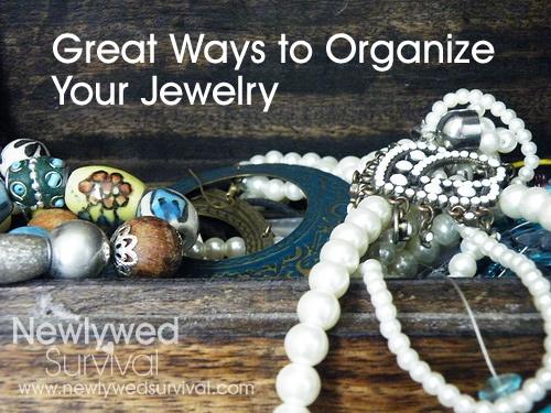 5 Ways to Organize Your Jewelry #organization