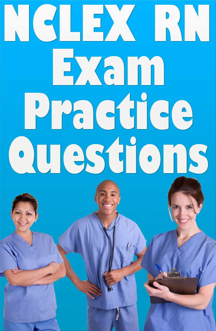 Are you studying to become an RN? If so, be sure to take advantage of these free NCLEX RN exam practice questions. These NCLEX RN practice questions will give you an idea as to what to expect on the actual NCLEX RN exam. #nclex #rn