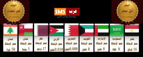 bulk sms to arab countries