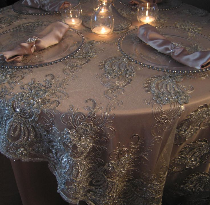 25 Best Ideas About Wedding Tablecloths On Pinterest