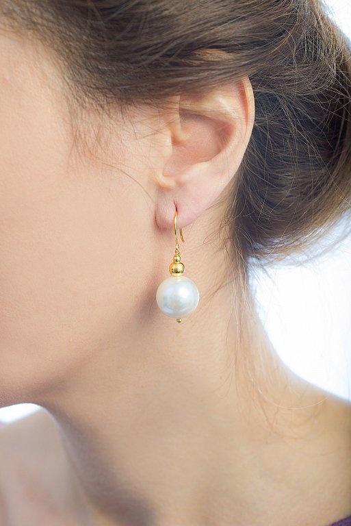 Cercei Precious Pearls