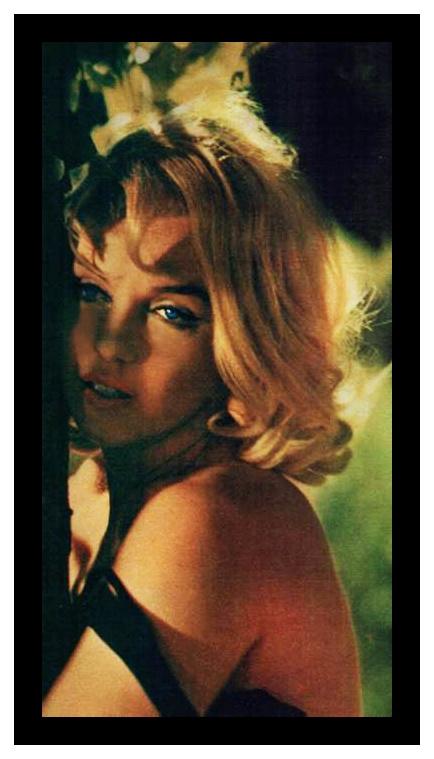 """Marilyn Monroe in """"m'The Misfits', 1961."""