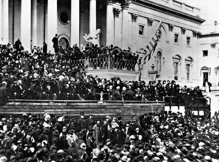 abraham lincolns second inaugural address is a powerful speech Than march 4, 1861, the date of abraham lincoln's first inaugural address   lincoln ended the speech with an eloquent and impassioned plea:  much as  any other action of any president show how a great leader leads.