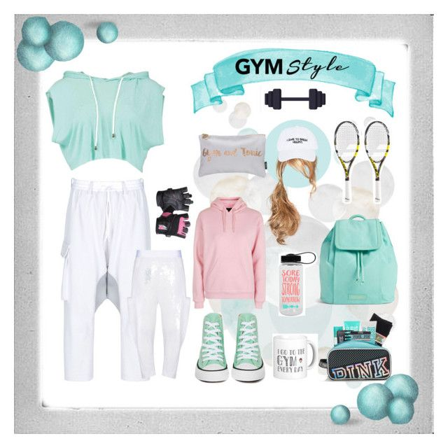 """Verde Pastel / Pastel Green"" by rafakeka ❤ liked on Polyvore featuring Polaroid, Y-3, Converse, Vera Bradley, Nasaseasons, Topshop and Babolat"