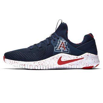 41de20cd4215 Men s Nike Navy Red Arizona Wildcats Free TR V8 Shoes