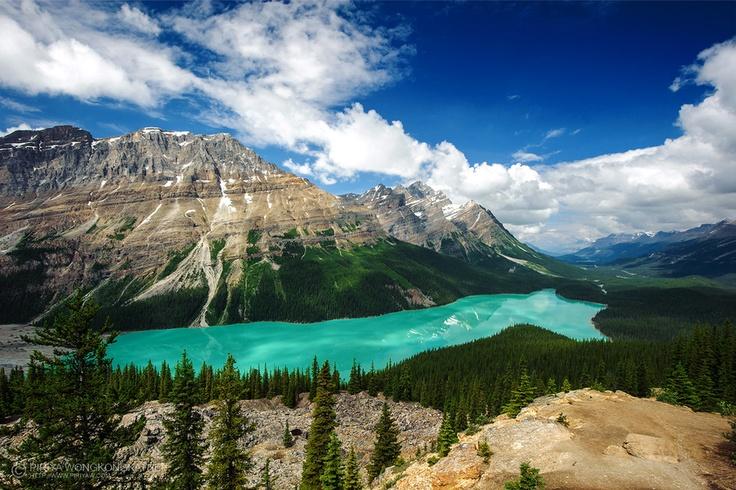 Lake Banff National Park, Canada: Porbit Deviantart Com, Alberta Canada, Colors, Beautiful, Peyto Lakes, Lakes Banff, Mountain Photography, Heavens, Banff National Parks