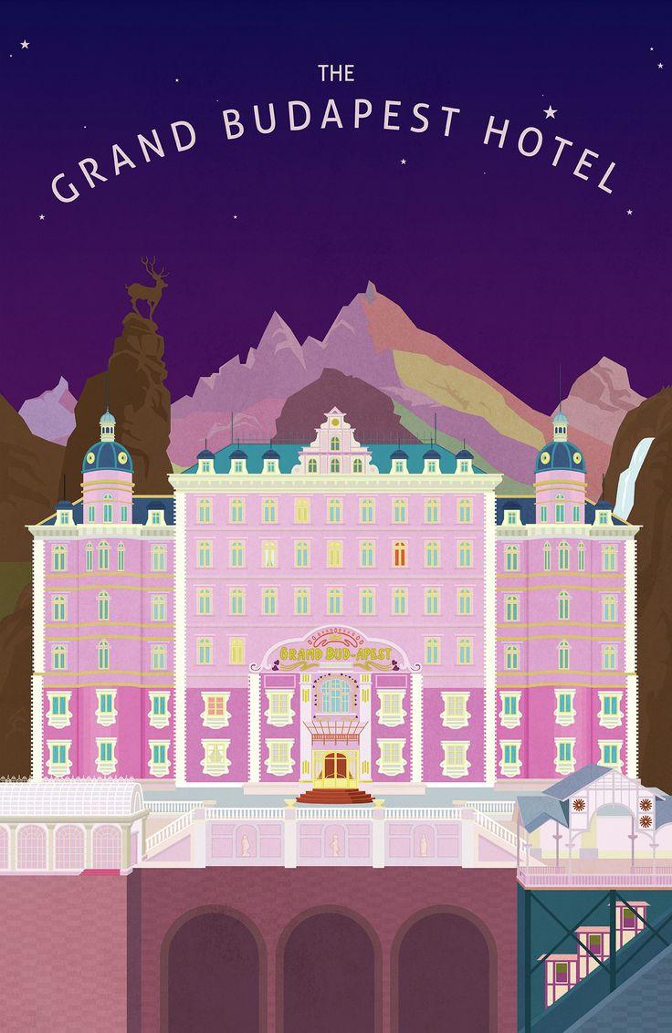 그랜드 부다페스트 호텔The Grand Budapest Hotel여러번 본 영화고 색감이 너무 이쁜 영화아트북을 구매한 후로 한번쯤 작업해 보고 싶다고 생각한 그랜드 부다페스트 호델주말 시간을 내어 작업하게 되었다.