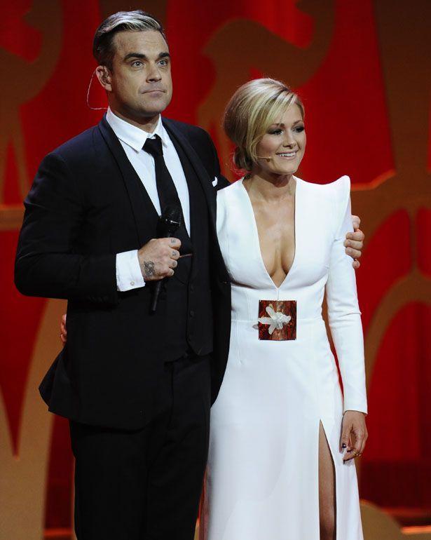 Bambi-Verleihung 2013 Helene Fischer stunning white dress