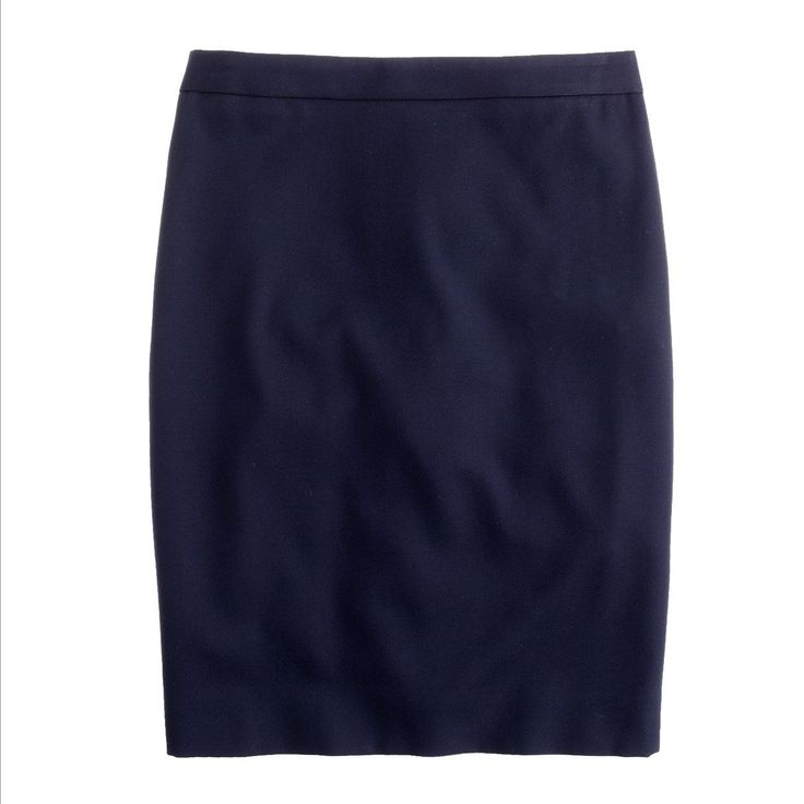 Petite pencil skirt in Super 120s wool - suiting skirts - Women's skirts - J.Crew