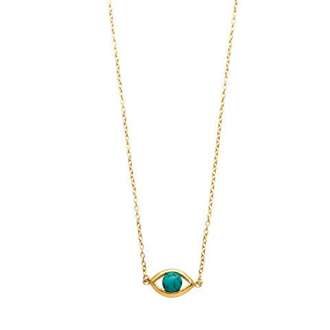 Iris Pendant / Turquoise from D A M S E L F L Y