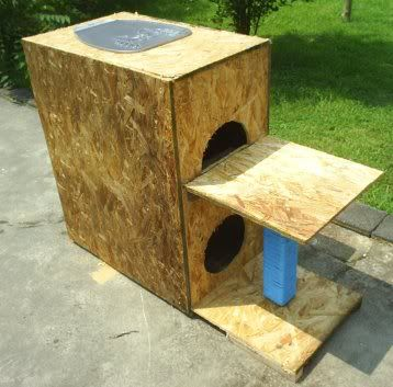 17 Best Images About Outdoor Cat House On Pinterest