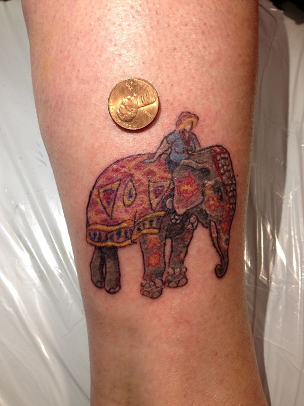 1000 images about tiny tats on pinterest camera for Tiny elephant tattoo