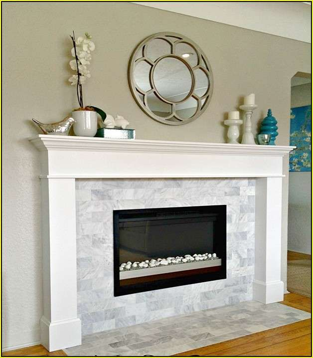 526 best linear fireplaces linear contemporary images on - Tiling a brick fireplace ...