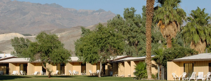 Death Valley Lodging. Furnace Creek Inn and Ranch Resort.