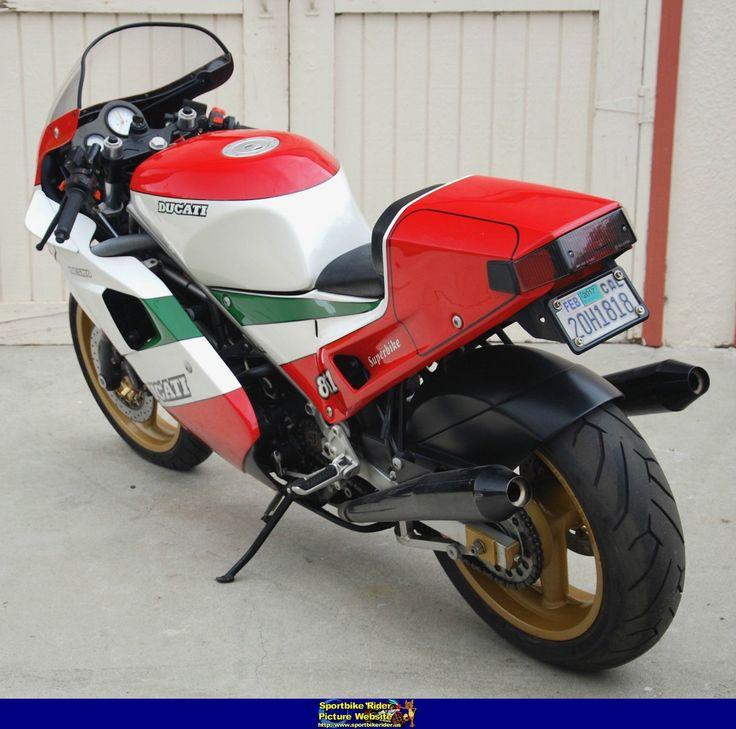 1988 Ducati 851 TriColore 5 - Ducati 851/888 Superbike - ID: 663632