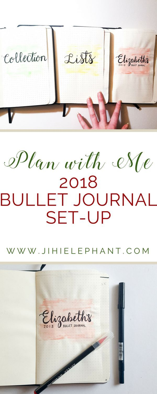 With the new year approaching, I have decided to completely switch up my bullet journaling routine. Instead of one overarching bullet journal. I am switching it up by having multiple journals each with a different purpose. Let's dive in and see what I have going on for my 2018 bullet journal!