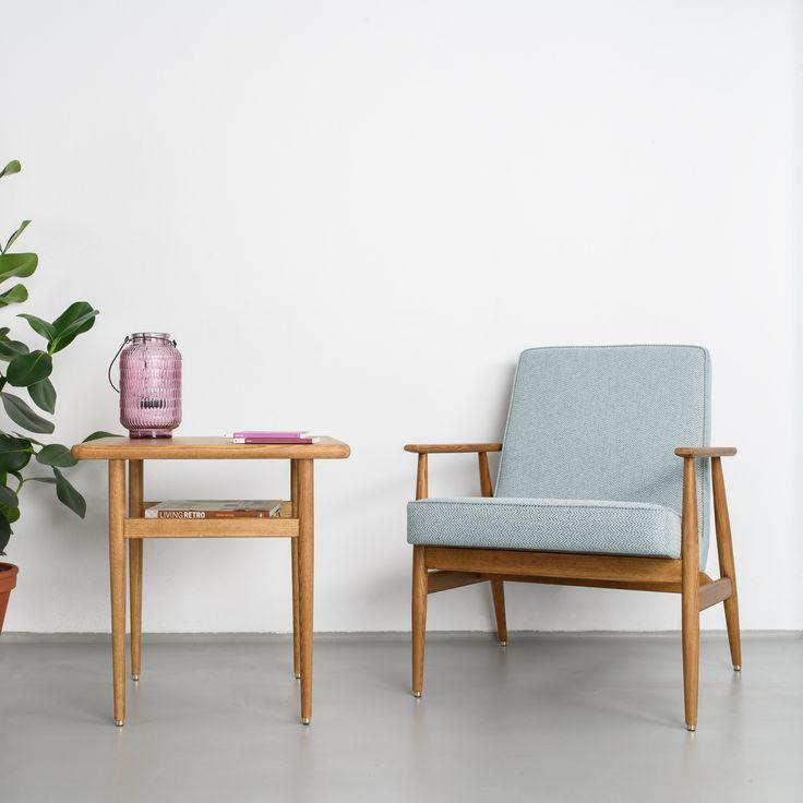 Fotel Fox Lounge Chair marki 366 Concept.              Kultowy fotel z okresu PRL-u powraca dziś w odnowionej wersji dzięki marce 366 Concept! Znajdź więcej na: www.euforma.pl #fotel #366concept #armchair #retrofurniture #furniture #design #polishdesign #fox #home