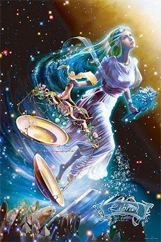 Starry Tales the Zodiac by KAGAYA 1000 piece library - Libra - [puzzle] shiny (50cm x 75cm, corresponding panel No.10) (japan import)