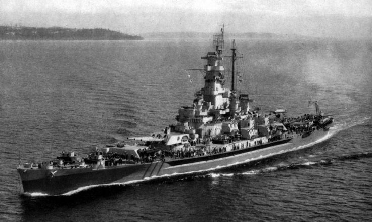 The Battleship USS Massachusetts: Lots of Firepower in a Small Package (for a Battleship) | The National Interest Blog