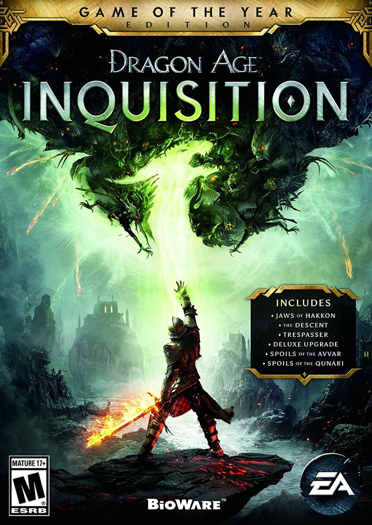 Dragon Age: Inquisition - Game of the Year Edition - PC [Digital Code] by Electronic Arts