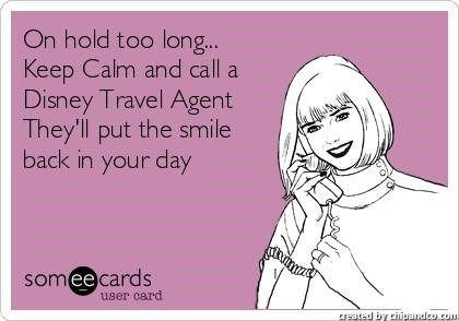 It's always good day when you can call your Disney Travel Agent.