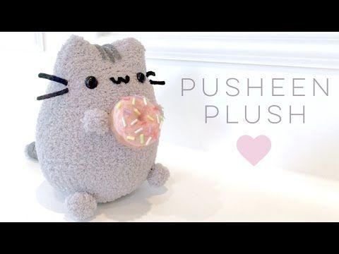 Pusheen & Donut Plush Tutorial - YouTube