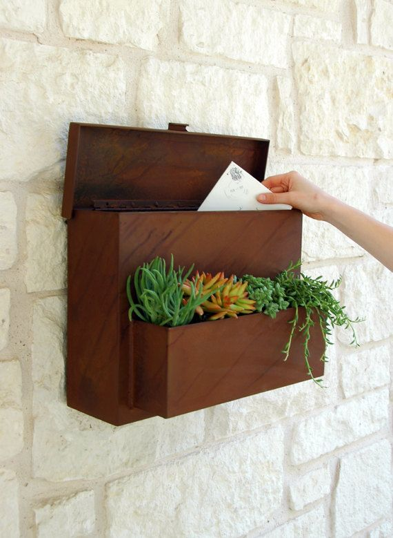 Desert Rose Planter Free Shipping Etsy Unique Mailboxes Mailbox On House Hanging Plants Diy