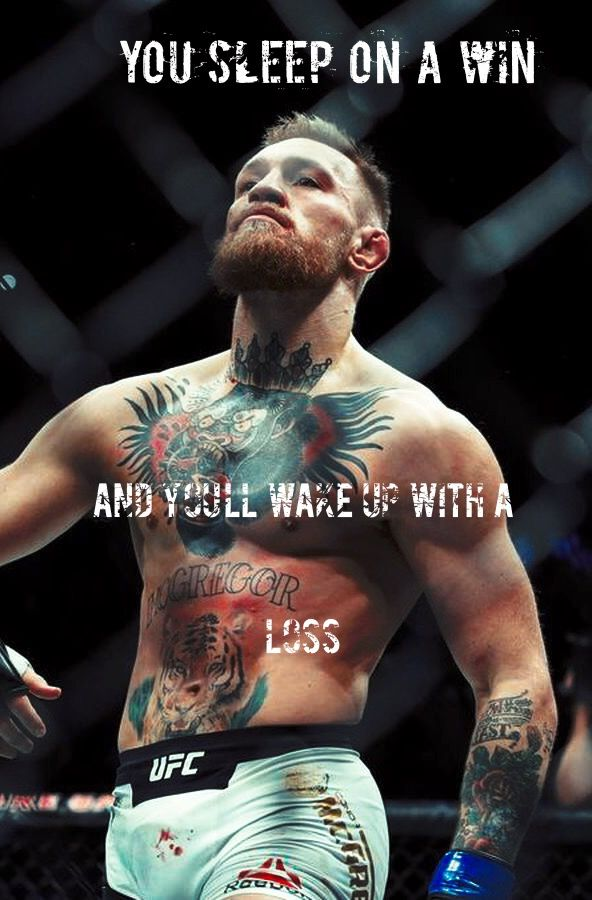 Motivation During The Exam Madebyme Conor Thenotorious Mcgregor Quote Iphonewallpaper Conor Mcgregor Quotes Notorious Conor Mcgregor Ufc News