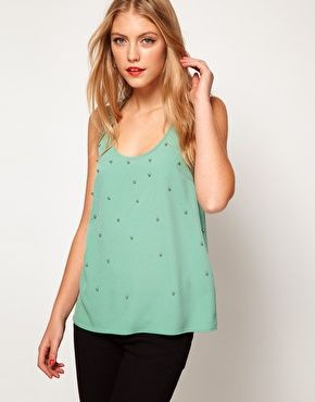 ASOS Vest With Bauble Studding
